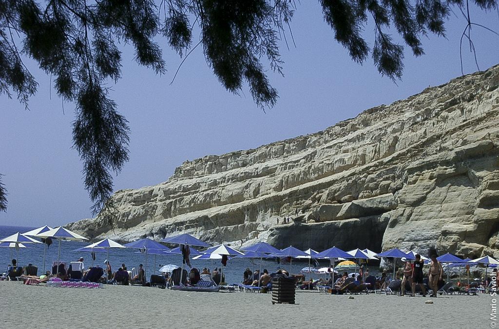Creta - Malala detta la spiaggia degli Hippie