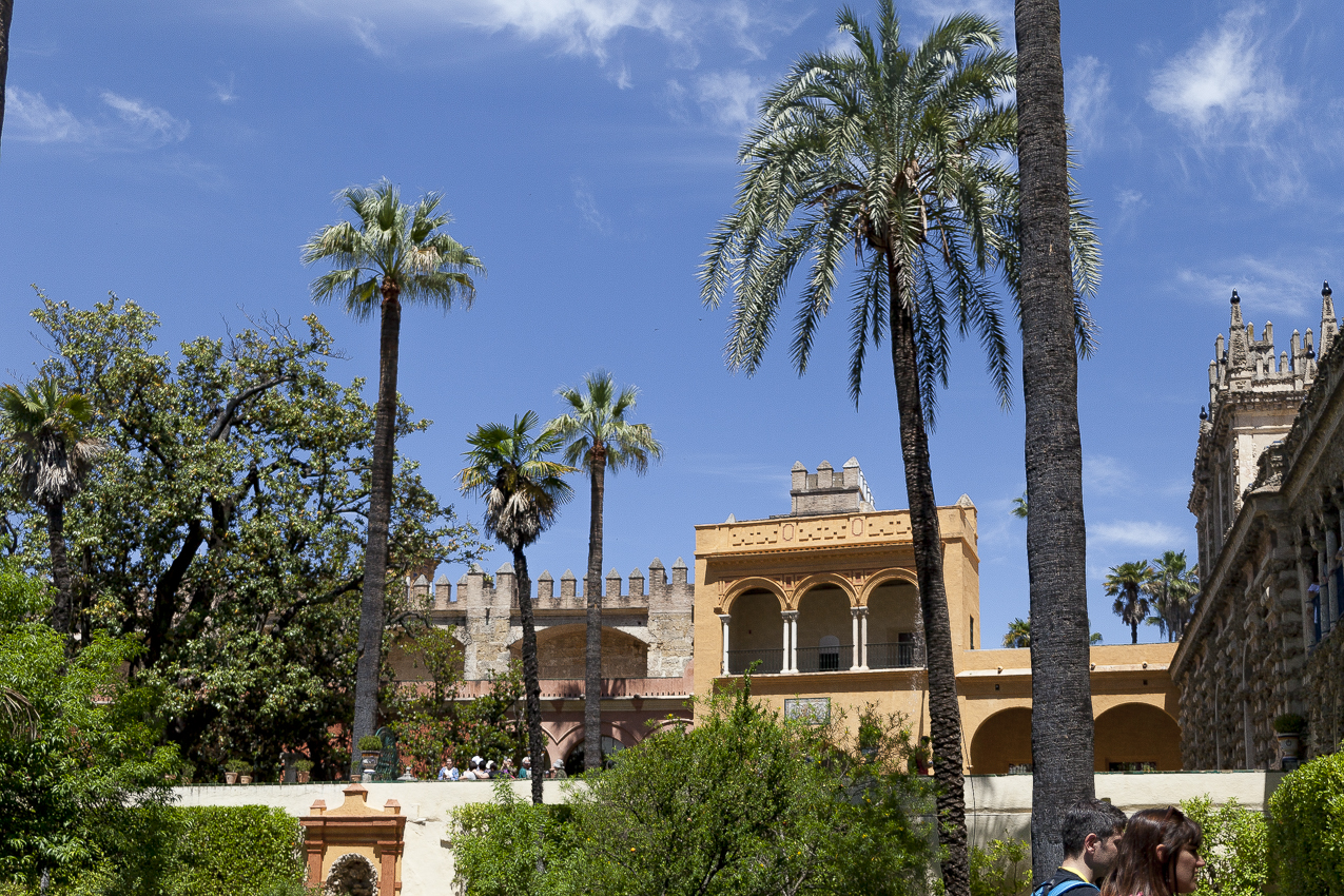 Siviglia - Giardini Alcazar