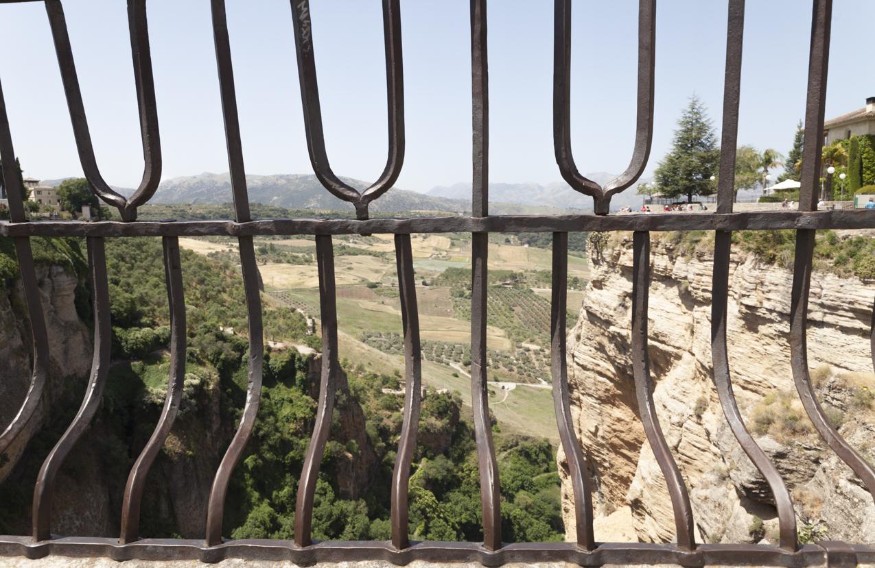 Ronda - Panorama da Ponte Romano
