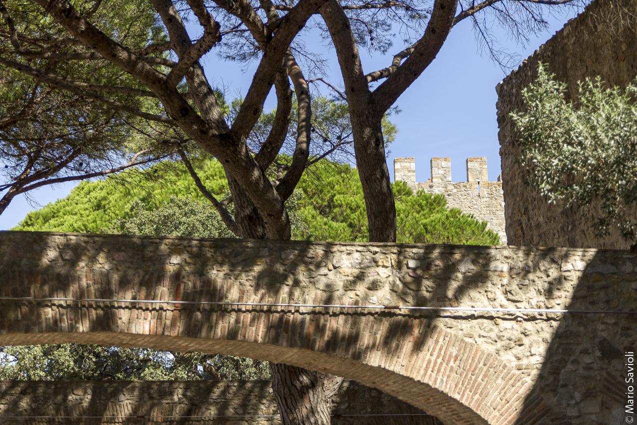 Lisbona - Il castello