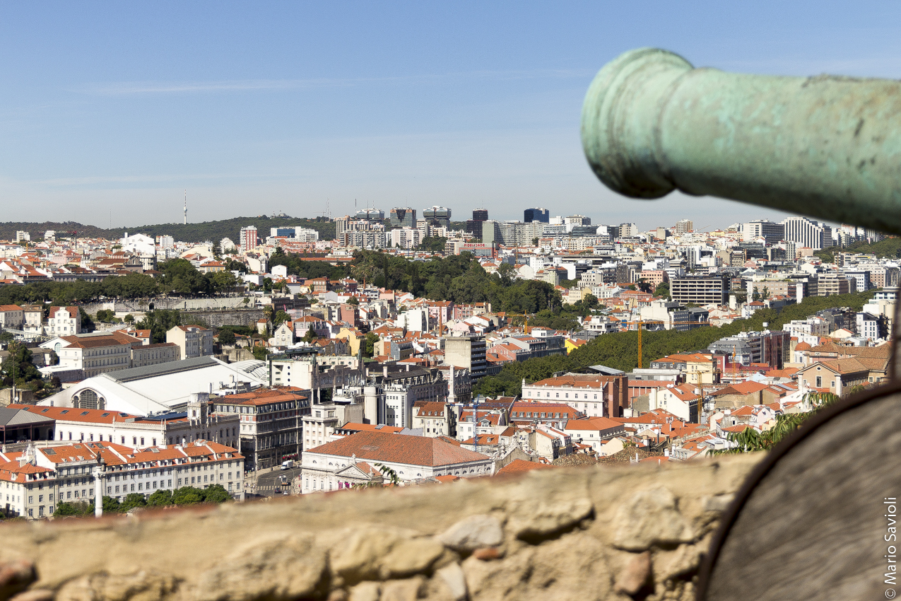 Lisbona - Panorama dal Castello