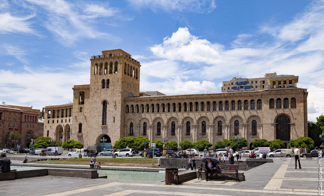 Piazza della repubblica Yeveran
