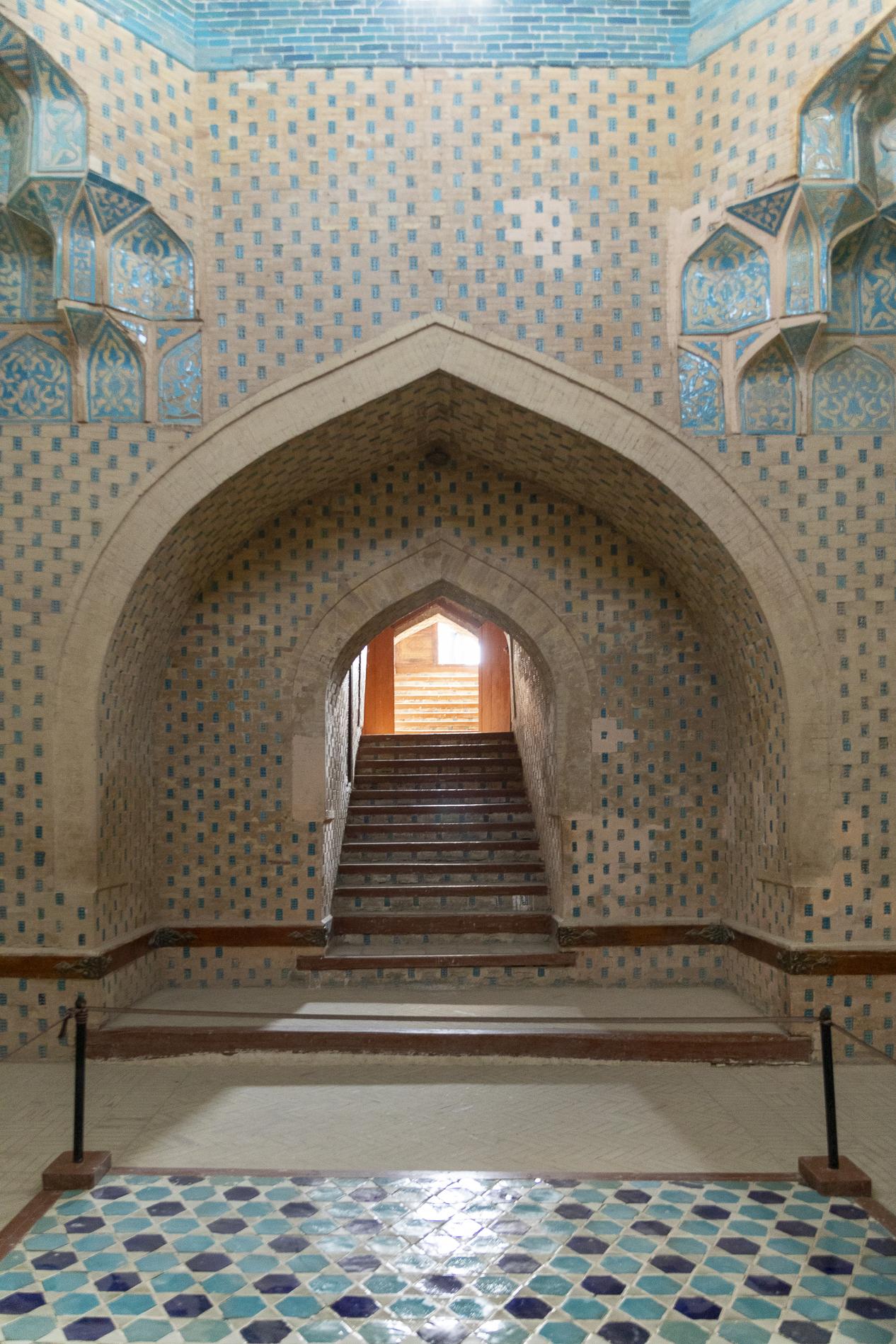 Mausoleo sotterraneo di Mazlumkhan-sulu