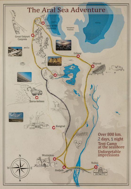 Uzbekistan: escursione Aral Sea