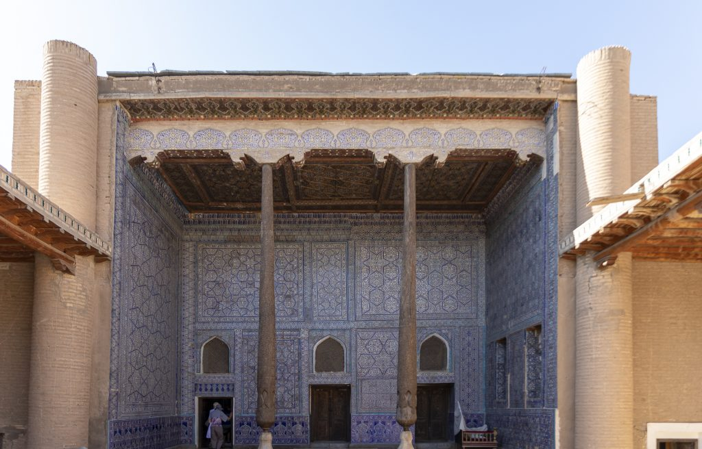 Konya Ark - Khiva - Sala del trono