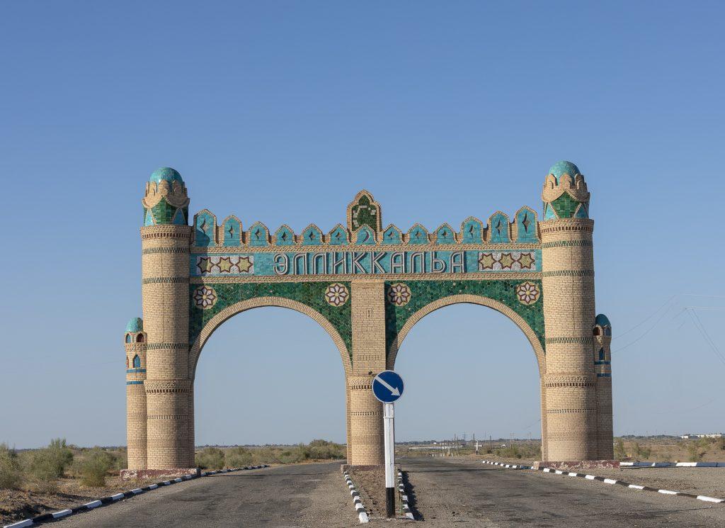 Distrello di Ellikkala - Uzbekistan