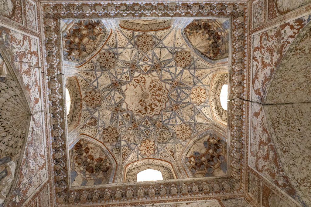 Decorazioni, Madrassa Abdoullaziz Khan - Bukhara