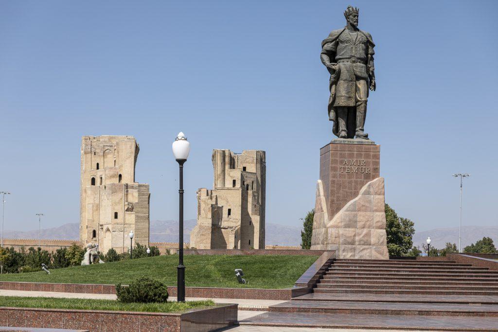 Tamerlano Palazzo Ak-Saray -  Shakhrisabz - Uzbekistan