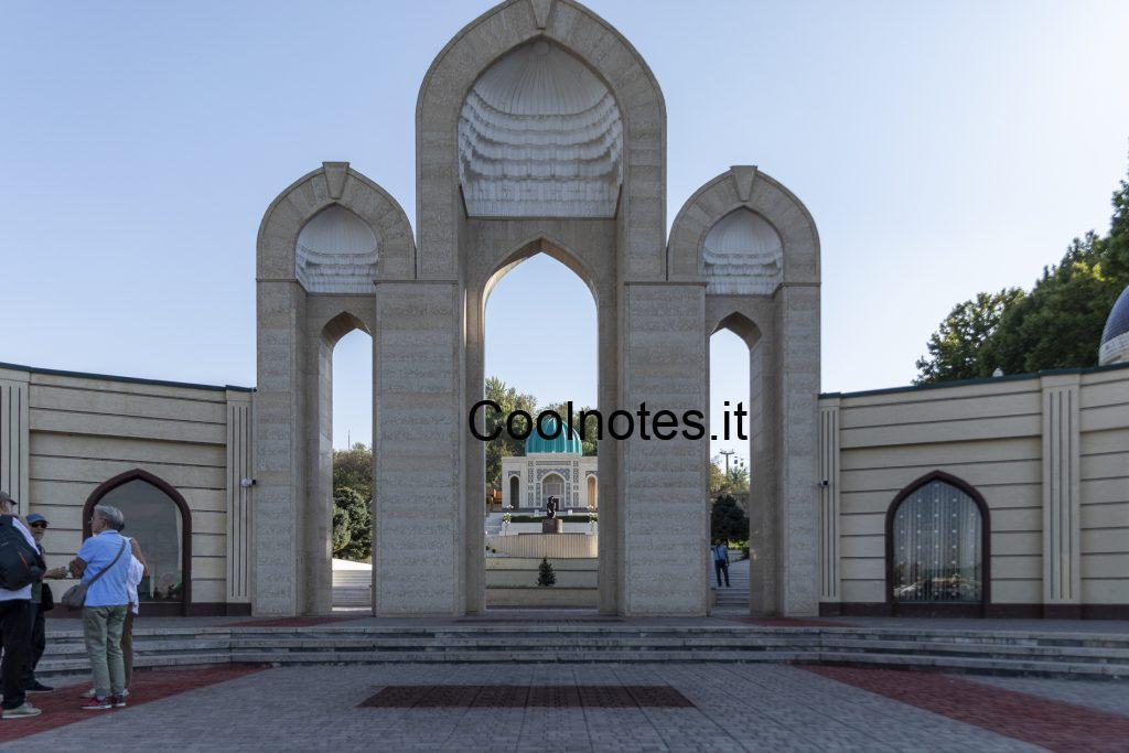 Babur Park di Andijan  - Uzbekistan