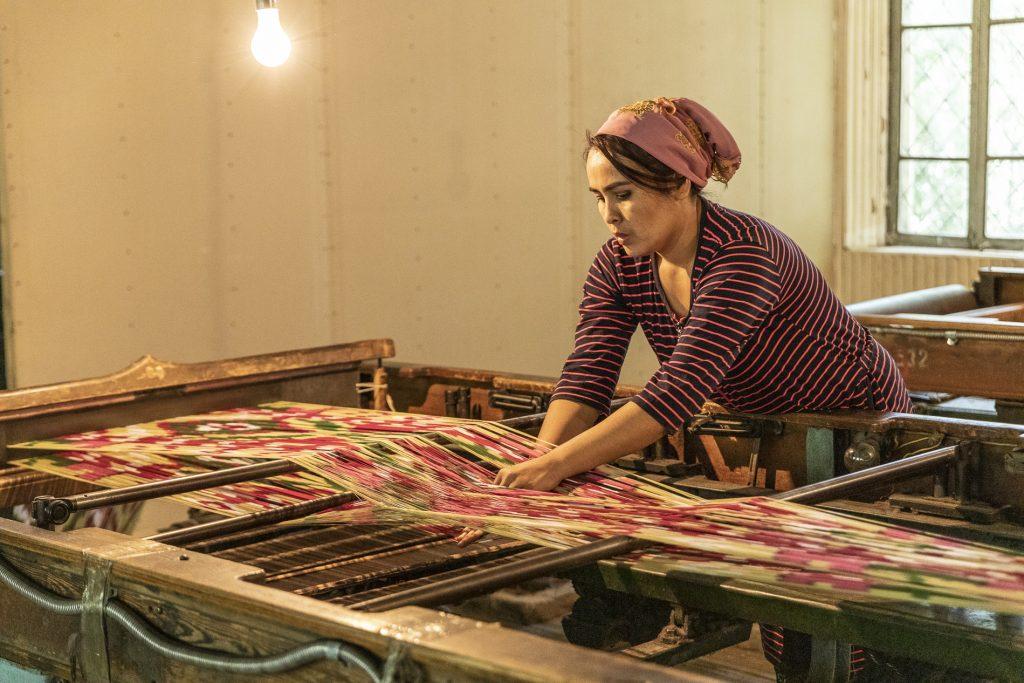 Marghilon - Yodgorlik Silk Factory - Uzbekistan